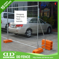 AFA certified tubular steel frame /compliant barrier/fence /Pedestrian Bar Barrier from China (factory) DD-FENCE
