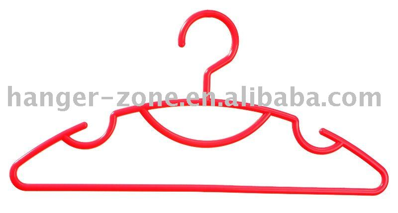 Multifunctional plastic clothes hanger made of PP material Direct Deal