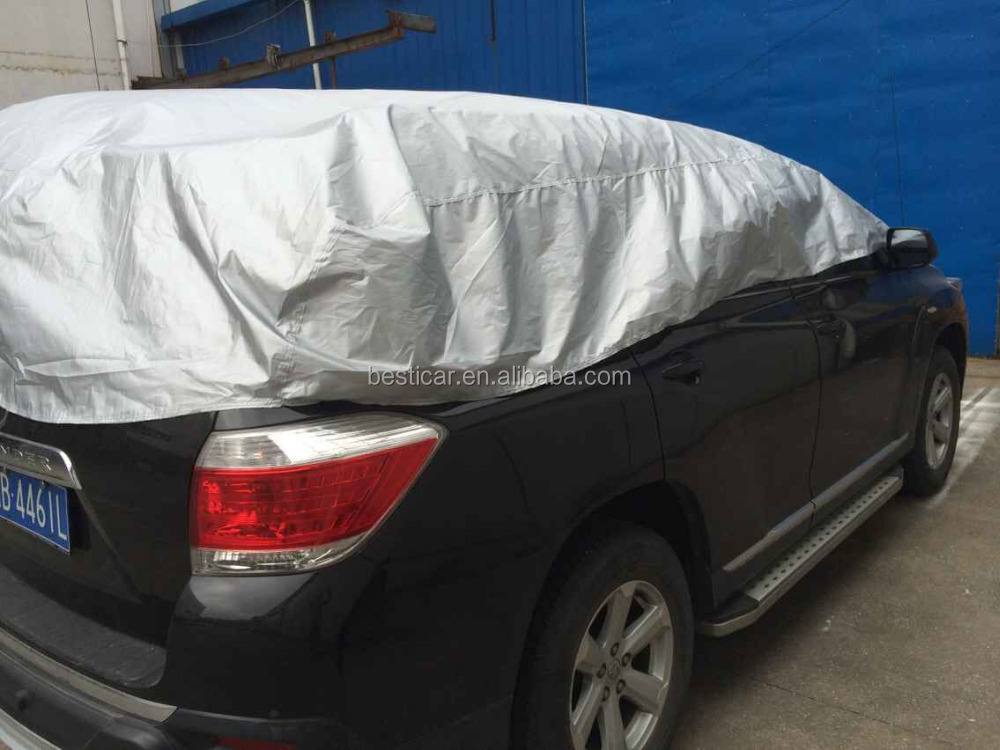 Auto Sun Snow Protection Waterproof SUV Top Cover Car Half Cover