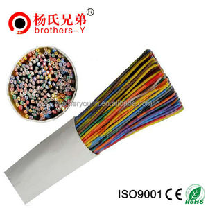 1-100P 24AWG Copper Mulit Pairs CAT3 CAT5E UTP Telephone Cable