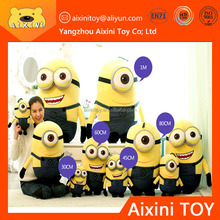 Custom made plush toy minion soft toy for children
