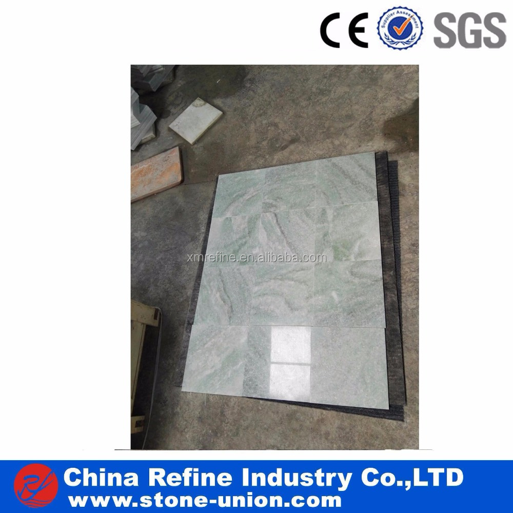 Chinese Marble Ming Light Green Flooring Tile Factory Price