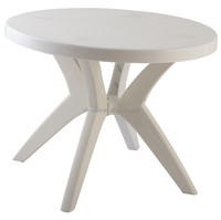 Plastic furniture table with remove legs on Sale