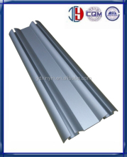 Lower aluminum profile rail for wardrobe sliding door