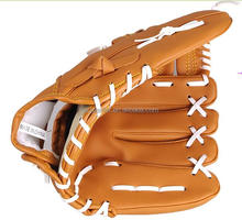 Cheap price 12inch left hand PVC leather stock baseball gloves
