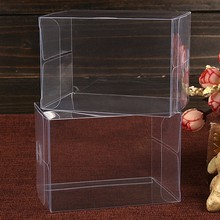 Hot selling logo printed clear PVC packaging box
