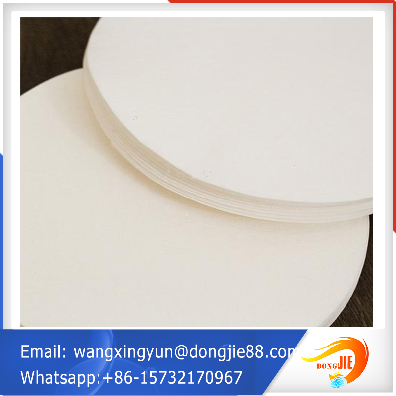 glass fiber lab filter paper/paint filter paper