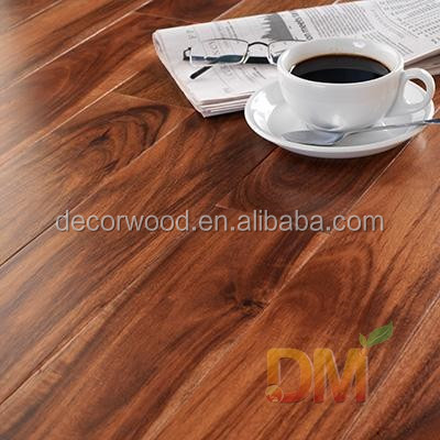High quality prefinished walnut acacia hardwood flooring