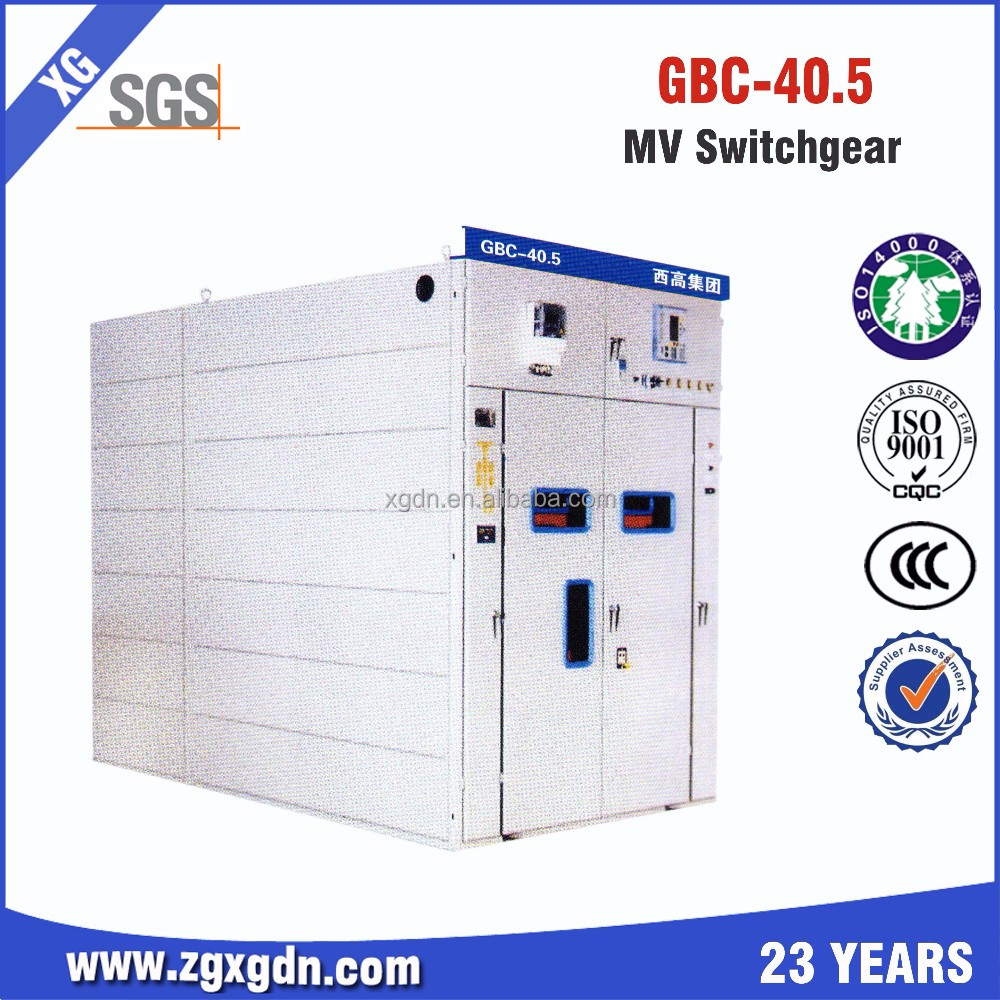 China GBC 40.5KV High Voltage Electrical Switchgear Manufacturer