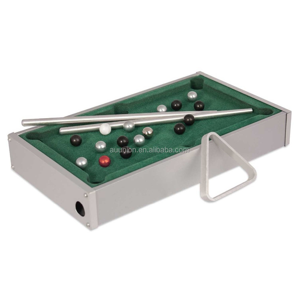 Mini Aluminum alloy TableTop Billiard Game Table/Pool Table