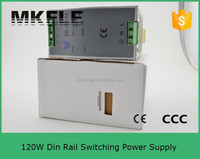 DR-120-24 Single output ac to dc 24vdc 5a power supply ac/dc 24v din rail switching power 120W wtih CE certificate
