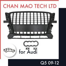 Auto Spare Parts Front Grill Body Kits Accessories For Audi Q5 09-12