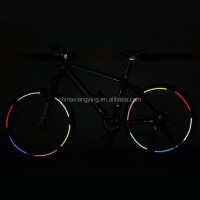 customized decorative safety reflective bike sticker