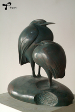 Bronze Animal Sculpture Bird Brass for Decoration