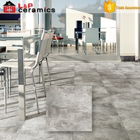 new style made in China grade AAA 24x24 matte ceramimic oyster grey rock cement tile morocco