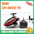 Walkera Mini CP rc helicopter With DEVO 7E Transmitter RTF