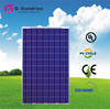 Moderate cost polycrystalline 240w solar panel for solar street light