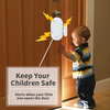 Monitored home security alarm systems sensor exit door alarm