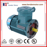 Asynchronous Motors 75kw 3 Phase Light Weight Ac Induction Electrical Motor