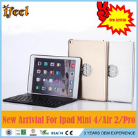 New Product Ultra-thin Super Light Universal Aluminum Bluetooth Wireless Keyboard For Ipad Air 2