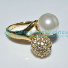 beautiful pictures of pearl fireball rings