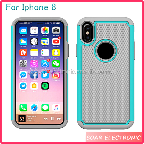 [Soar]Latest 5G Cell Phone Case For Iphone 8 Hard Protective Back Cover Case For Iphone 8