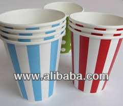 8 oz Disposable Paper Cups for Cold Drinks