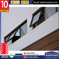 out ward opening aluminum awning window Australian high standard 2047/2208/1288