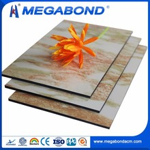 Megabond Widely Use ACP/ACM Aluminum cheapest interior wall paneling