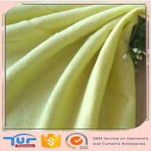 fluorescent green high quality plaid dyed jacquard knit fabric