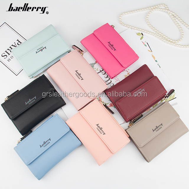 2017 New design Small pocket wallets for girl leather lady wallets/Cut style elegant mini Purse for Girls ,Model N2348