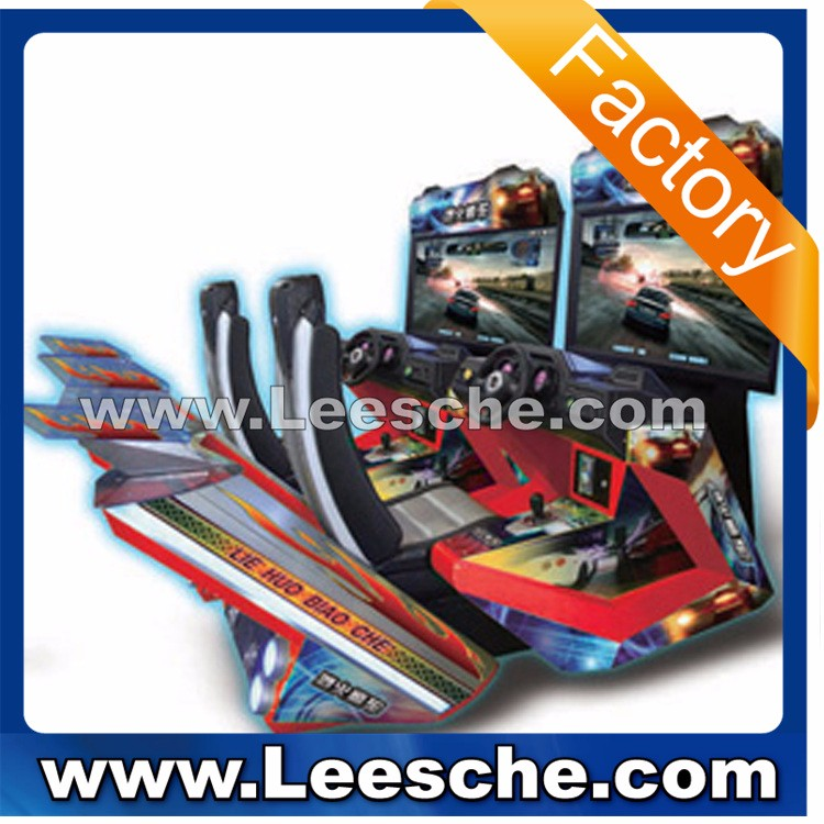 Leesche amusement Temple run 2 indoor simulator lottery game machine skill arcade game machine for shopping mall