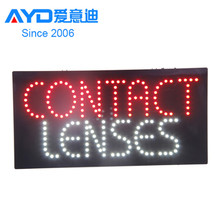 The laterst design advertising crystal real estate window led sign