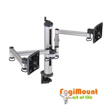Flex Arm Monitor Stand With Easy Adjustable Handle On Top