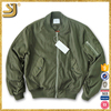 Factory Supplier Directly Army Green Padding Men Bomber Jacket