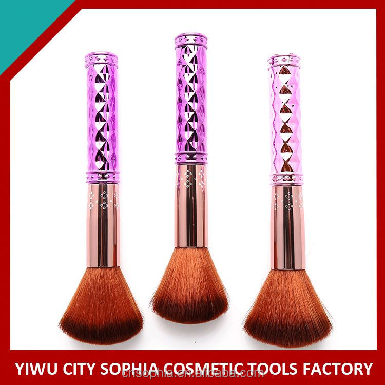 Factory Main Products! trendy style acrylic handle cosmetic brush reasonable price