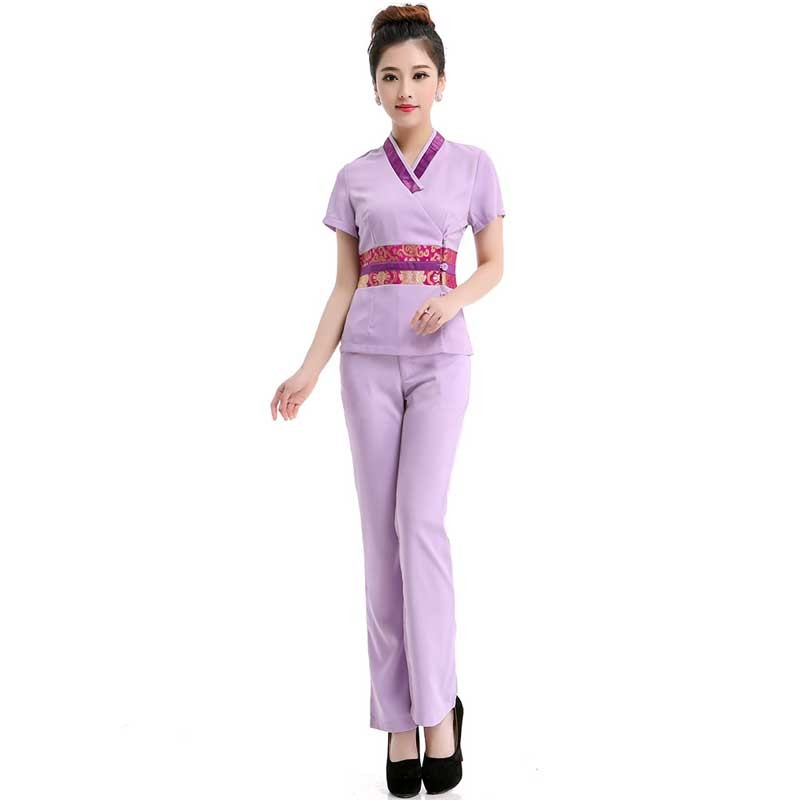 Wholesale woman thai spa uniforms