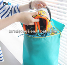 2015 best selling fashional plain shoe bag /golf shoes bag/storage bag