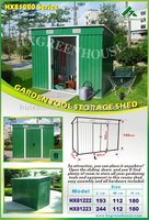 Hot new products for 2015 garden shed gardening tool storage shed HX81222