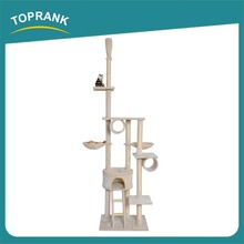China Supplier plush cat tree the best cat scratching post