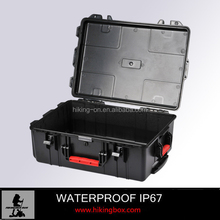 HIKINGBOX Hard Plastic Tool Case with wheels and Handle