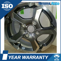 14 inch racing electric car wheel, auto alloy wheels rims hub China made