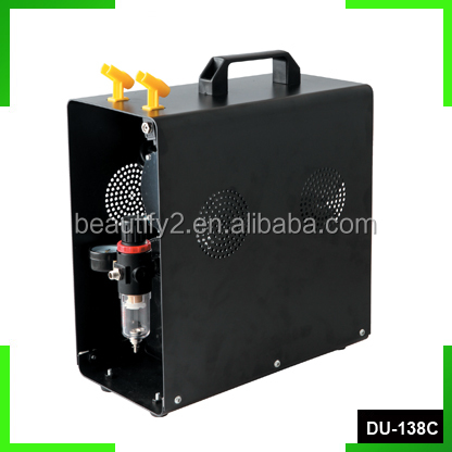Powerful air compressor airbrush compressor with 3L air tank & metal cover