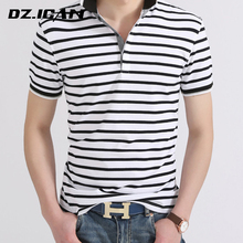 Top Selling China Factory Custom Striped Mens Polo T Shirt
