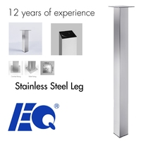 Stainless Steel Furniture table leg levelers lowes