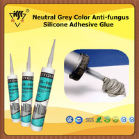 Neutral Grey Color Anti-fungus Silicone Adhesive Glue