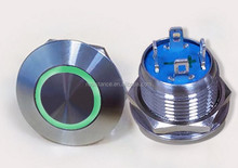 Blue green yellow different color metal Push button <strong>switch</strong>