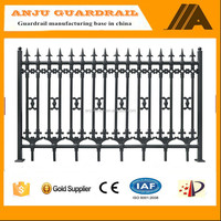 DK-01 strong tension spear top tubular steel wrought iron fence