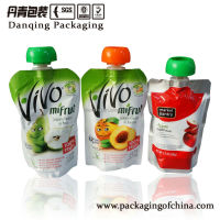 Food packaging plastic bag,high quality spout standing pouch for chocolate