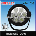 Hot sale 70W led work light auto led light,Waterproof and CE Certificate
